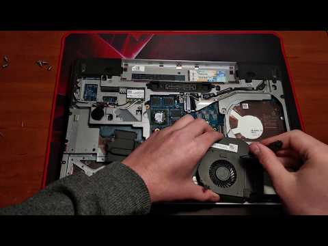 Dell Latitude e6540 replacing the cooling fan