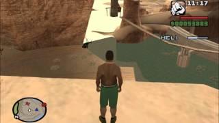 GTA San Andreas Crazy Trainer antics