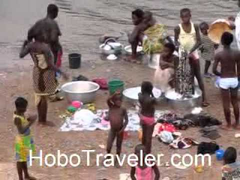 Elubo Ghana River and Cocoville Hotel for 15 Cedis