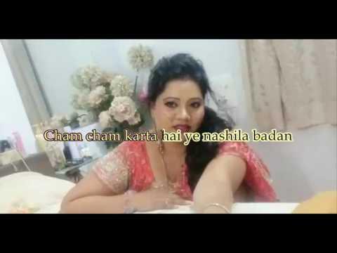 cham cham karta hai ye Karaoke with Lyrics