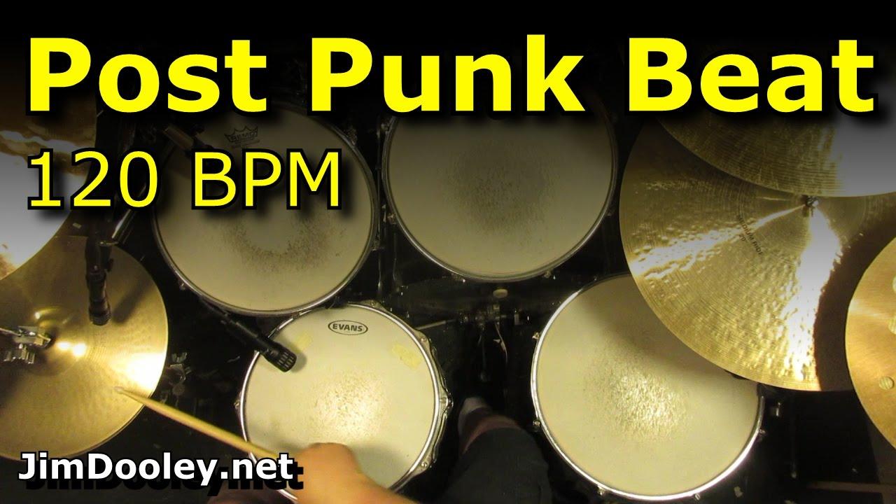 Post Punk Drum Beat/Loops 120 BPM