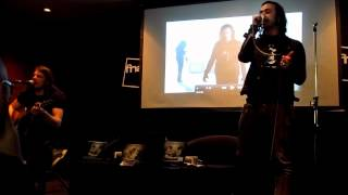 A Greater Darkness (acoustic) - Moonspell live at Fnac Colombo, Lisbon, PT - 26.04.2012