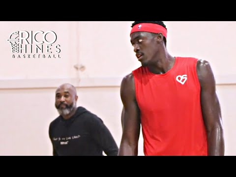 Most Improved Player; NBA Champion Pascal Siakam Workout with Rico Hines
