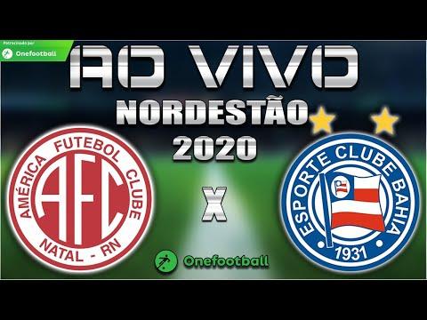 América-RN x Bahia Ao Vivo | Copa do Nordeste 2020 | 7ª Rodada | Narração