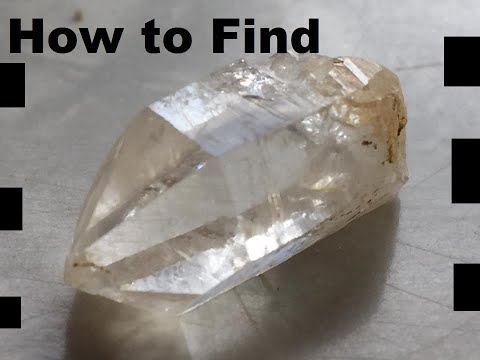 How To Find Crystal Hunting In Mcadoo Pennsylvania USA Easy DIY