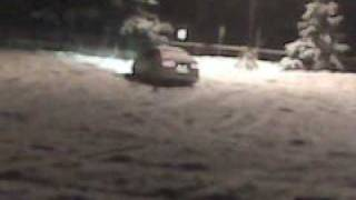 2002 Subaru Legacy 2.5 GT Limited donuts in snow pt. 2!!!!