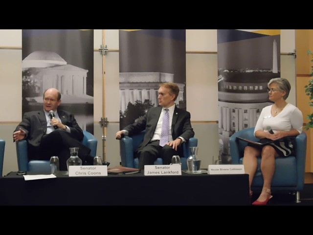 6/13/19: Senators Chris Coons and James Lankford on Tariffs and Trade- Part 1