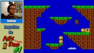 Jogatina de Alex Kidd in Miracle World - Parte 1 - Cadê o sanduiche?