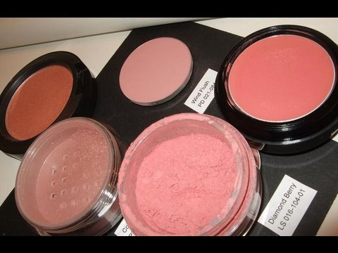 My Top 5 blush Favourites, review & swatches - YouTube