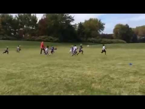 DKB Flag Football Game 4 - 10122014 - 1
