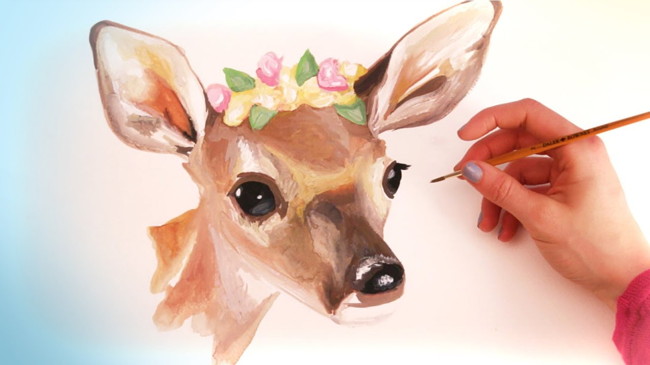 Watercolor Animal Paintings