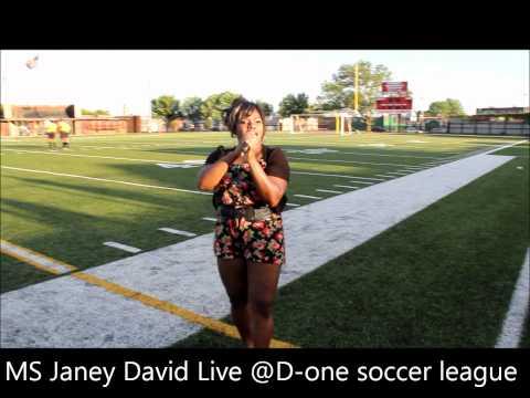 Mrs Janey david live @ D-one soccer league