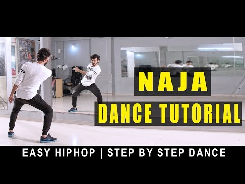 Dance Tutorial Naja (Pav Dharia) Easy Hip Hop | Step By Step | Vicky Patel