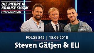 Die Pierre M. Krause Show vom 18.09.2018 mit Steven Gätjen und ELI