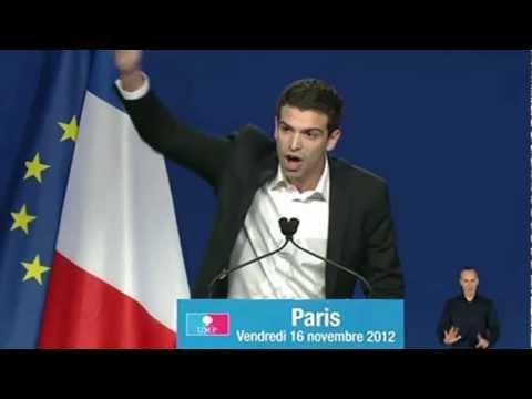 Discours de Jonas Haddad au meeting de J.F. Copé - Carrousel du Louvre