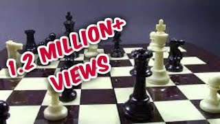trick for black! fast win in 7 moves [HINDI]