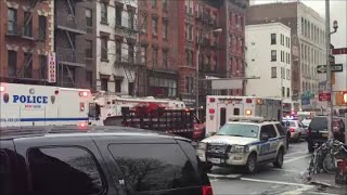 FDNY Purple K Unit Arriving On Scene Of A 10-60 7th Alarm Gas Explosion & Building Collapse