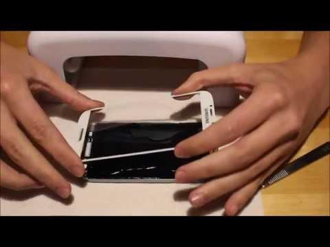 Samsung Galaxy S4 Display Glas wechseln Reparatur mit LOCA UV-Kleber (German) repair