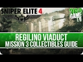 Sniper Elite 4 Mission 3 Collectibles Guide (Letters, Eagles, Documents, Reports, Rosters)