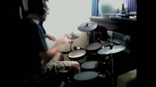 "Meshuggah ""Soul Burn"" (drum cover)"