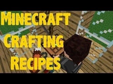 Custom Recipes мод для Minecraft //