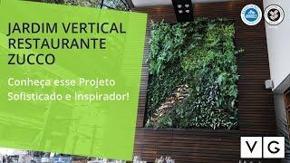 Case de Sucesso: Parede Verde Zucco Restaurante - Vertical Garden