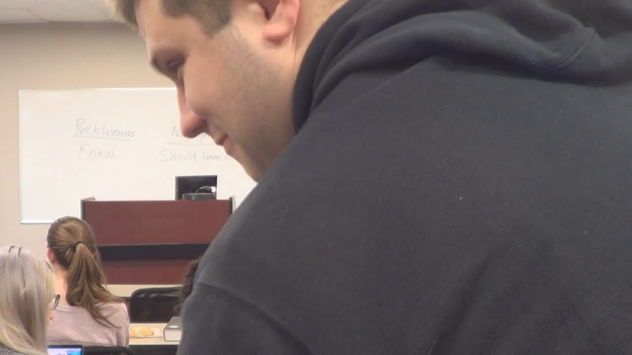 Classroom Recording - Criminal law I - C hurricane make-up - Kim