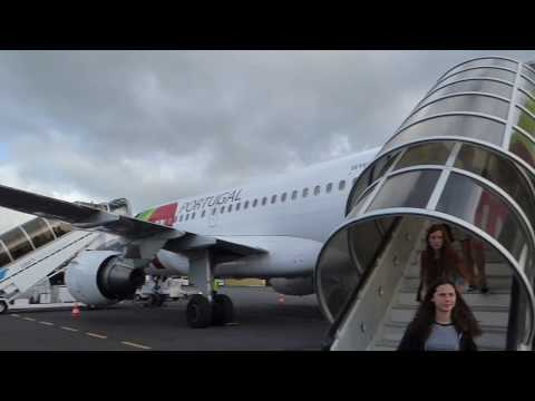 Lisbon - Terceira TAP Airbus A319 Trip report