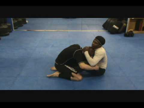 No Arm Darce Choke from Butterfly Guard