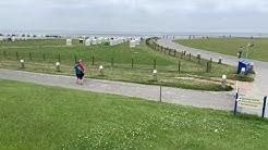 Norddeich - Norden Juni 2020 Hundestrand die Bauarbeiten beginnen