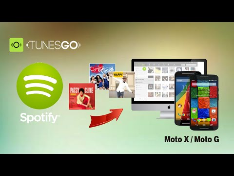 [Spotify to Moto G]: How to Download Music from Spotify to Moto X +1/ Moto X +2/ Moto G 3