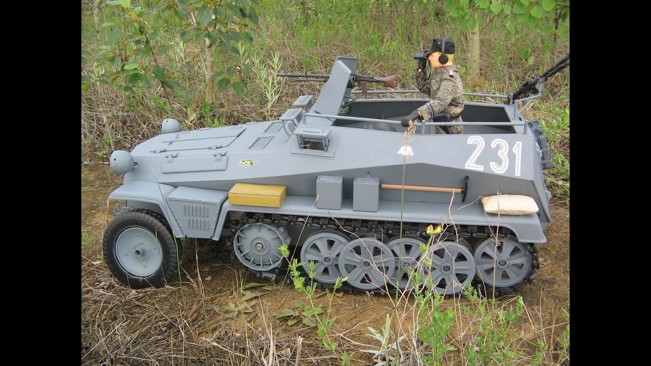 world war ii german half track sd kfz 250 action figure doovi. Black Bedroom Furniture Sets. Home Design Ideas
