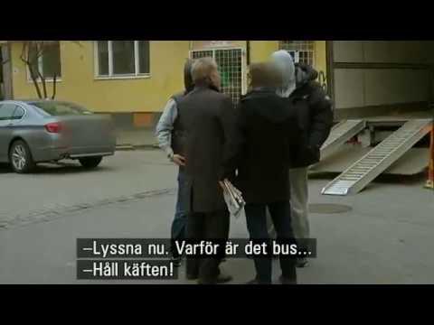 Janne Josefsson och Ilmar Reepalu i Malmö