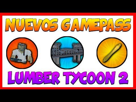Nuevos Gamepass en Lumber Tycoon 2 | Roblox