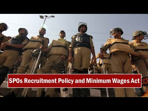 SPOs Recruitment Policy in Jammu Kashmir Police; Sewa Singh Bali demands Justice for SPOs.