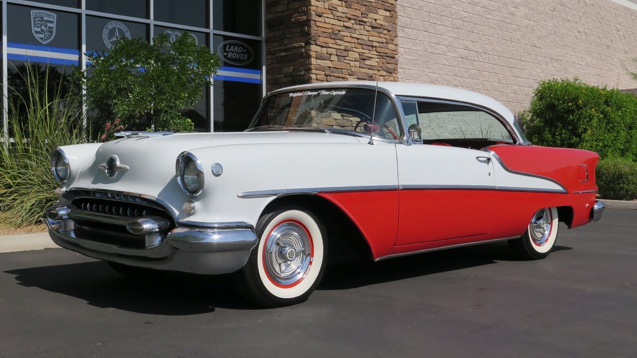 Transmission For Sale >> 1955 Oldsmobile Super 88 - YouTube