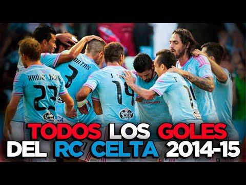 REAL CLUB CELTA DE VIGO 2014-2015 TODOS LOS GOLES