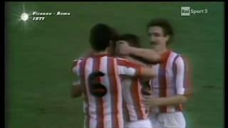 Vicenza - Roma. Serie A-1977/78 (4-3)