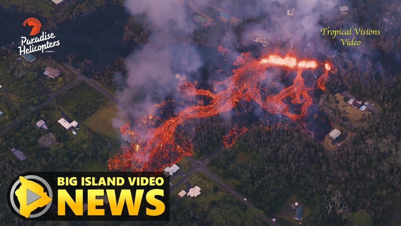 Hawaii Volcano Eruption Update - Sunday Evening (May 6 ...