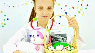 Игры для девочек - Котята на приёме у врача