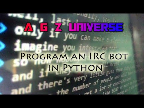 IRC bot in Python -Tutorial