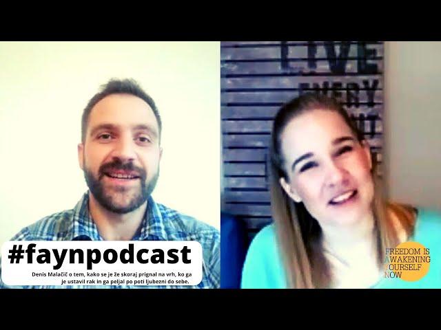 F.A.Y.N. podcast z Majo Monrue: Denis Malačič o tem, kako ga je stanje fikusa prebudilo v življenje