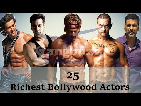Thumbnail: Richest Actor In Bollywood - 25 Richest Bollywood Actors Net Worth | Richest Bollywood Stars |