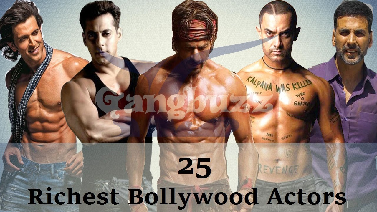 Richest Actor In Bollywood - 25 Richest Bollywood Actors Net Worth | Richest Bollywood Stars |