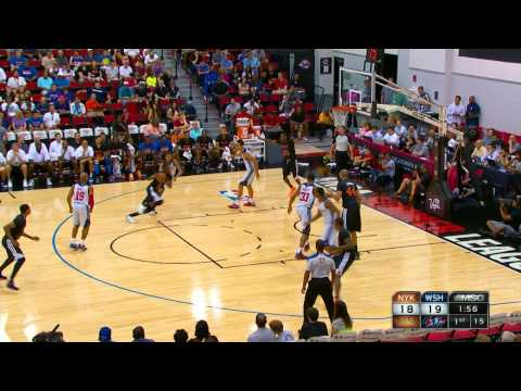 Washington Wizards vs New York Knicks Summer League Recap