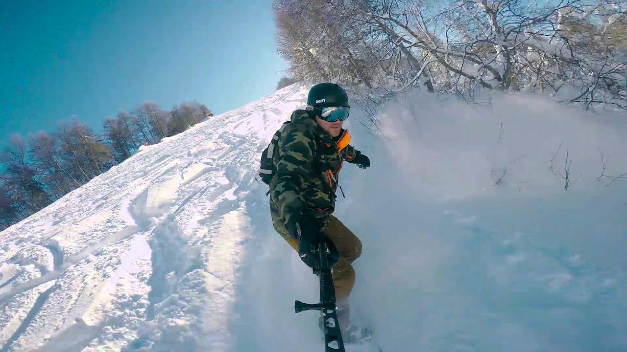Montecampione 10 febbraio 16 snowboard freeride
