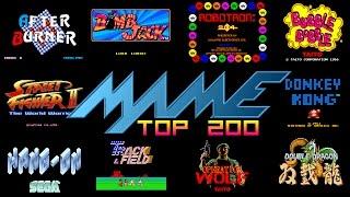 Mame/Arcade Top 200 Games