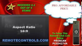 Review Proscan 1080p LED HDTV - PLED4274A