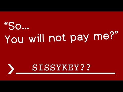 SCAMMER CAN'T SPELL SYSKEY