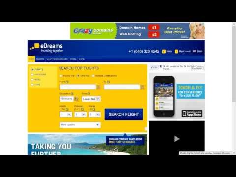How To Use Edreams.net To Find Cheap Flights